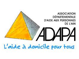 Logo de l'ADAPA association d'aide a domicile Ain