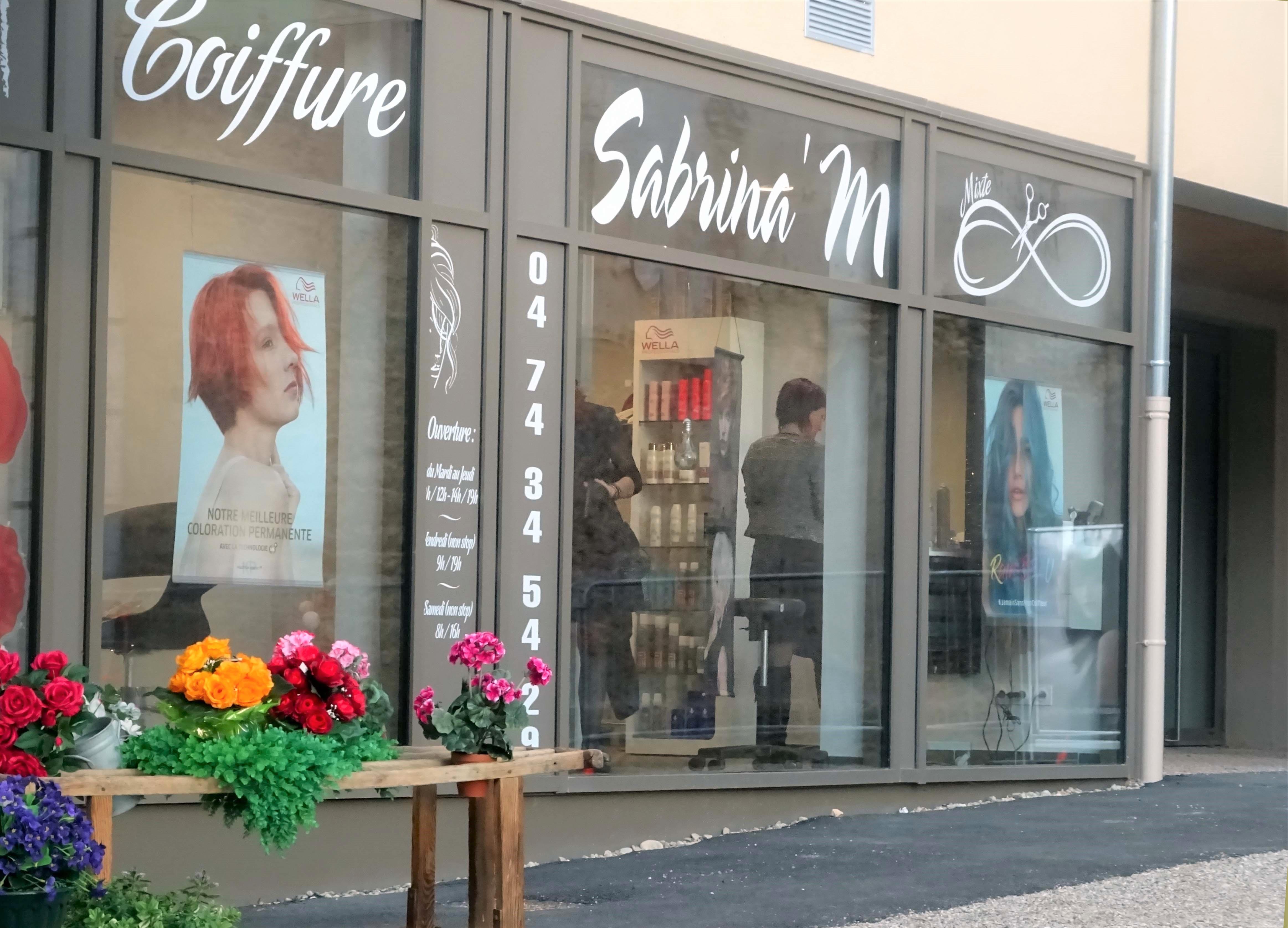 Coiffure Sabrina'M  à Saint-Jean-le-Vieux dans l'Ain
