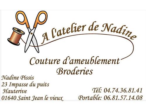 A l'atelier de Nadine  à Saint-Jean-le-Vieux dans l'Ain