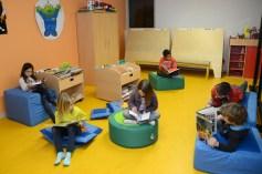 Photo de la salle d'activité périscolaire à Saint-Jean-le-Vieux dans l'Ain