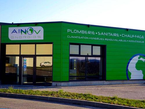 Ainnov Energies  à Saint-Jean-le-Vieux dans l'Ain