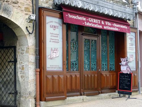 Boucherie Géret et Fils  à Saint-Jean-le-Vieux dans l'Ain