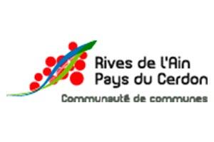 logo de la Communauté de communes Rives de l'Ain et Pays du Cerdon